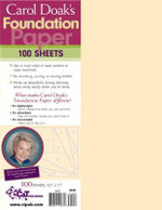 Carol Doak's Foundation Paper - Carol Doak