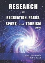 Research in Recreation, Parks, Sport & Tourism - Carol Cutler Riddick