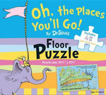 Oh, the Places You'll Go! by Dr. Seuss Floor Puzzle : Includes 48 Giant Puzzle Pieces - Dr Seuss Enterprises