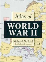 Atlas of WWII Small - Richard Natkiel