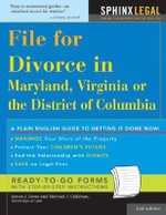 File for Divorce in Maryland, Virginia, or the District of Columbia - PhD James J Gross