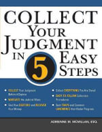 Collect Your Judgment in 5 Easy Steps - Adrienne McMillan