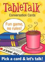TableTalk Conversation Cards : Pick a card and let's talk! - U S Games Systems, Inc.