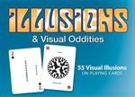 Illusions & Visual Oddities : 55 Visual Illusions on Playing Cards - J R Block