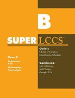 SUPERLCCS 14 Schedule B-BJ : Philsophy & Psychology