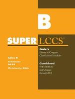 SUPERLCCS 14 Schedule Br-Bx : Christianity Bible