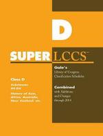 SUPERLCCS 14 Schedule DS-DX : Hist of Asia Africa Aus N Zea