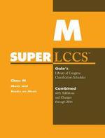 SUPERLCCS 14 Schedule M : Music&books on Music