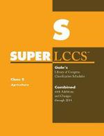 SUPERLCCS 14 Schedule : S Agriculture