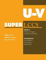 SUPERLCCS 14 Schedule U-V : Military and Naval Science
