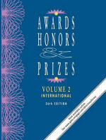 Awards, Honors & Prizes : International