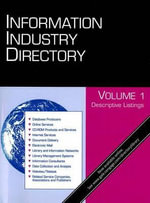 Information Industry Directory : Information Industry Directory