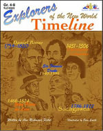 Explorers of the New World Time Line : Algebra, Middle Grades & Up - Ann Richmond Fisher