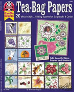 Tea-Bag Papers : 20 of Each Style Fold Beautiful Stars, Frames and Borders - Deborah Rodgers
