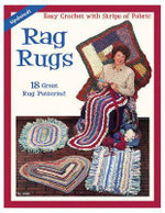 Rag Rugs : Easy Crochet with Strips of Fabric - Suzanne McNeill