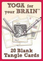 Yoga for Your Brain 20 Blank Tangle Cards - Sandy Steen Bartholomew