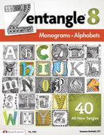 Zentangle(R) 8: 8 : Monograms. Alphabets - Suzanne McNeill