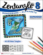 Zentangle 8, Expanded Workbook Edition - CZT Suzanne McNeill