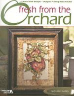Fresh from the Orchard : 4 Cross Stitch Designs/Designer Framing Mats Included - Frankie Buckley