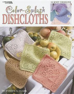 Color-Splash Dishcloths : 15 Knit Designs - Evelyn A Clark