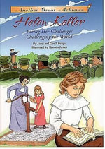 Helen Keller Facing Her Challenges/Challenging the World with CD Read-Along - Janet Benge