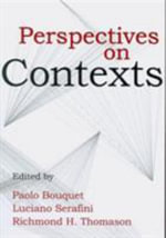 Perspectives on Contexts : Center for the Study of Language & Information - Lecture Notes