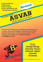 ASVAB Exambusters CD-ROM Study Cards : Test Prep Software on CD-ROM!