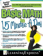 Basic Math in 15 Minutes a Day - Learning Express LLC