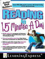 Reading in 15 Minutes a Day - Learning Express LLC
