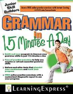 Grammar in 15 Minutes a Day - Learning Express LLC