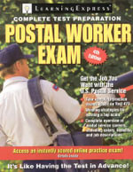 Postal Worker Exam [With Access Code] : Postal Worker Exam: Pass the 473 Battery Exam to Win a Job in the Postal Service