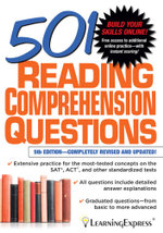 501 Reading Comprehension Questions - LLC LearningExpress