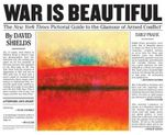War is Beautiful : A Pictorial Guide to the Glamour of Armed Conflict - Dave Hickey