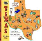 Sate Shapes Texas - Erik A Bruun
