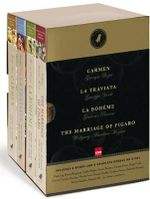 Black Dog Opera Library Box Set : Includes La Boheme, Carmen, La Traviata and the Marriage of Figaro - Wolfgang Amadeus Mozart