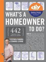 What's a Homeowner to Do? : This Is a What's a ...to Do? Book - Stephen Fanuka