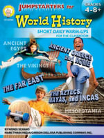 Jumpstarters for World History, Grades 4 - 8 - Wendi Silvano