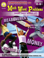 Jumpstarters for Math Word Problems, Grades 4 - 8 - Anne L. Steele