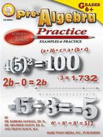 Pre-Algebra Practice Book, Grades 6 - 8 - Ed D. Barbara R. Sandall