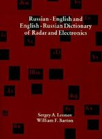 Russian-English and English-Russian Dictionary of Radar and Electronics - Sergey A. Leonov