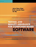 Testing and Quality Assurance for Component-Based Software - Jerry Zeyu Gao