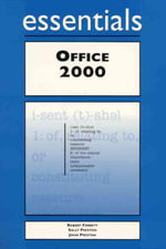Outlook 2000 Essentials : Essential Series - Rob Tidrow