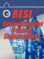 Resi Environmental Control Endorsement - Max Main