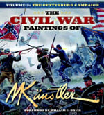 The Civil War Paintings of Mort Kunstler : The Gettysburg Campaign v. 3 - Mort Kunstler
