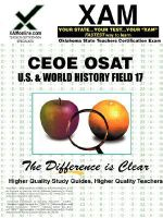 Ceoe Osat Physical Education-Safety-Health Field 12 Certification Test Prep Study Guide - Sharon Wynne
