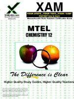chemistry : teacher certification exam - Sharon Wynne