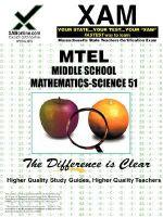 MTEL Middle School Mathematics/Science 51 - Sharon Wynne