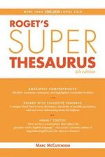 Roget's Super Thesaurus - Marc McCutcheon