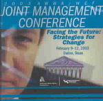2003 Joint Management Proceedings on CD - Multiple Contributors