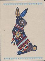 Beci Orpin Journal Folk Rabbit :  Folk Rabbit - Beci Orpin